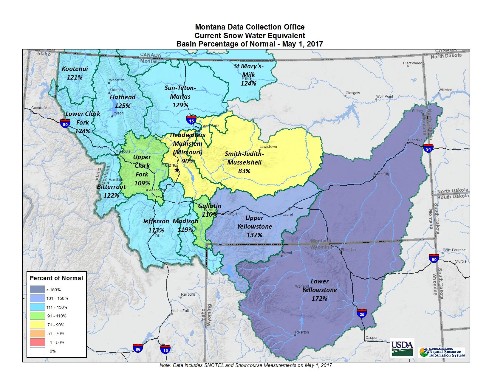 Basin Map