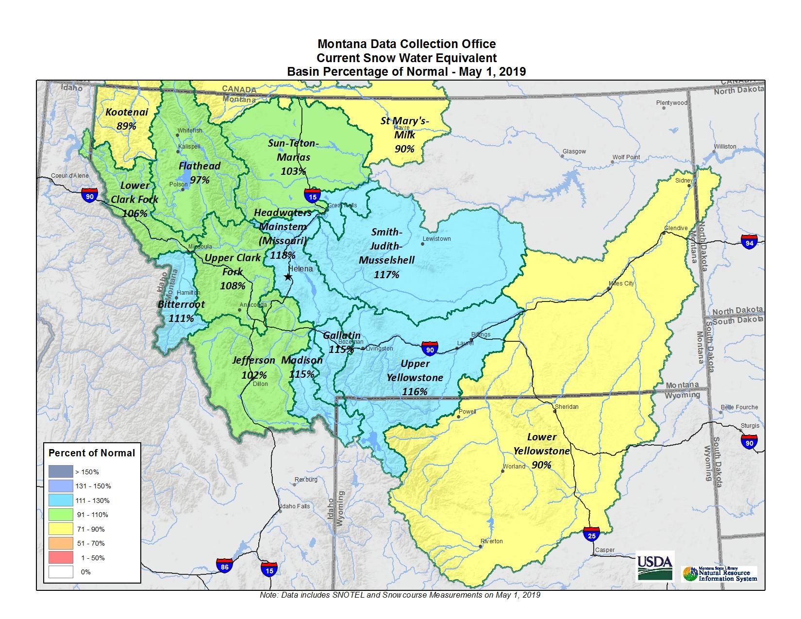 May 2019 Basin Map
