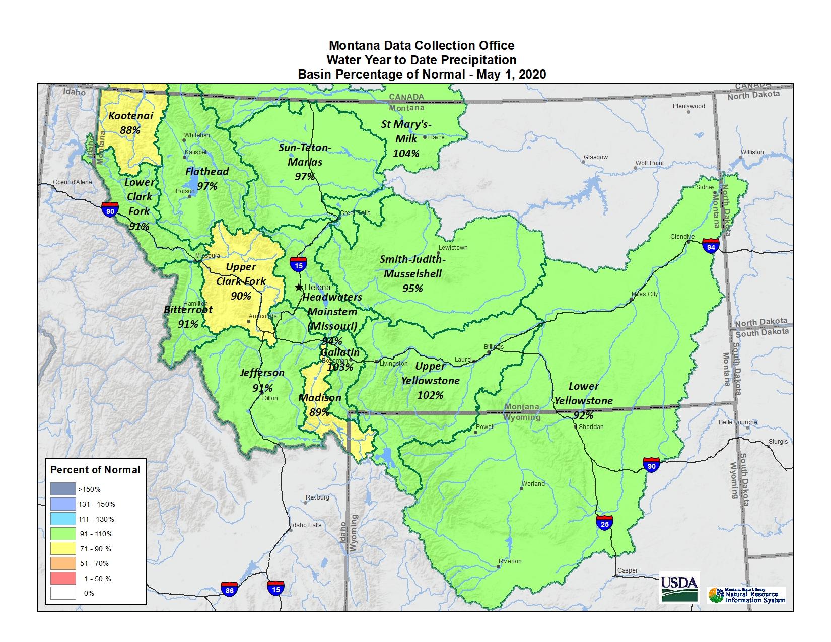 May 2020 Basin Map